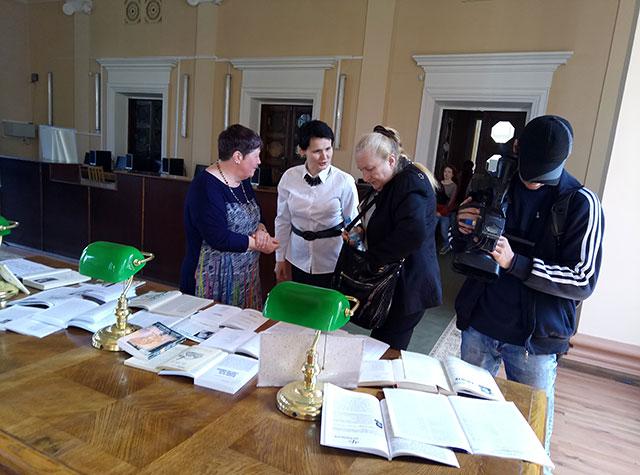 творча зустріч з Софією Майданською
