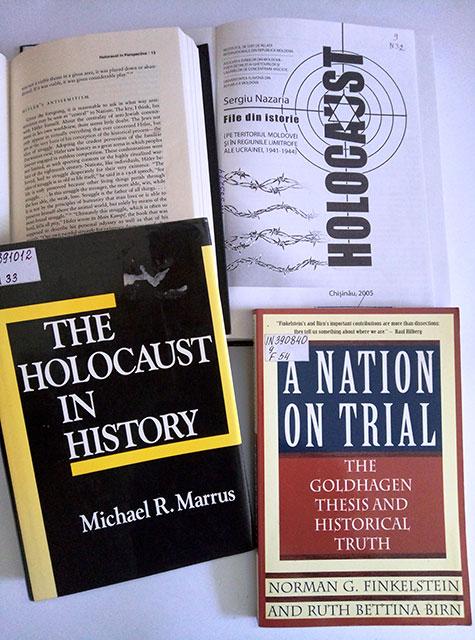 """книжкова виставка: """"Трагедія Голокосту"""""""