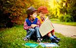 """Міжнародний день дитячої книги, книжкова виставка: """"Завітаймо у дитинство"""""""