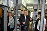 Наукова бібліотека зустрічає гостей