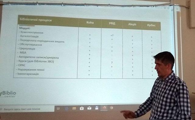 """презентація автоматизованої бібліотечної інтегрованої системи """"Koha"""""""