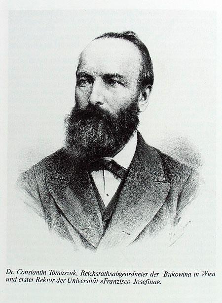 Перший ректор Чернівецького університету